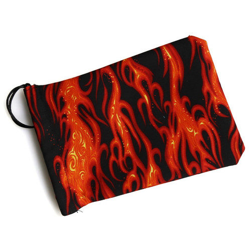 Dice and Gaming Accessories Dice Bags: Dice Bag: Black Flame 2