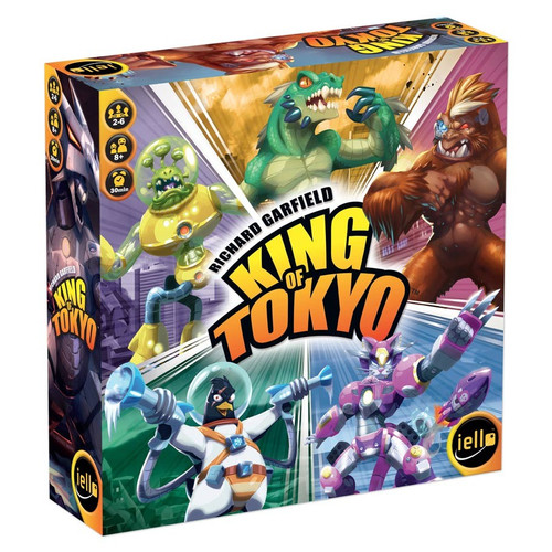 Board Games: King of Tokyo - King of Tokyo: 2016 Edition