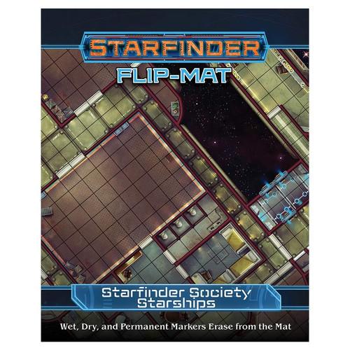 Starfinder: Starfinder Flip-Mat - Starfinder Society Starships