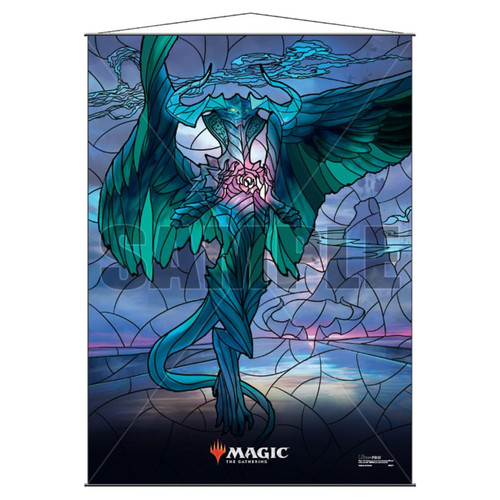 Other MTG Products: Ugin Stained Glass Wall Scroll