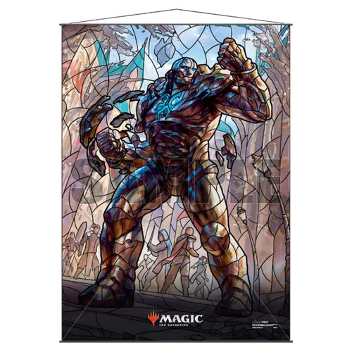 Other MTG Products: Karn Stained Glass Wall Scroll