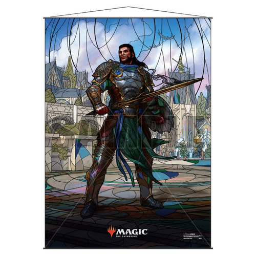 Other MTG Products: Gideon Stained Glass Wall Scroll