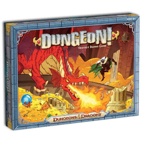 Board Games: Staff Recommendations - Dungeons and Dragons Dungeon! Fantasy Board Game