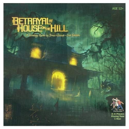 Board Games: Staff Recommendations - Betrayal at House on the Hill