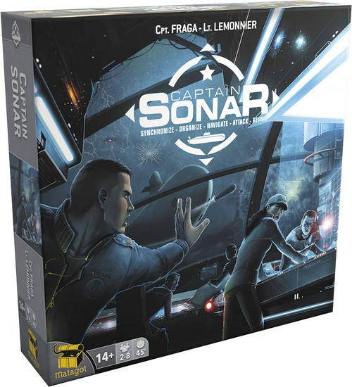 Board Games: Staff Recommendations - Captain Sonar