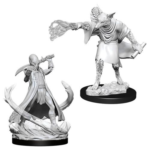 RPG Miniatures: Nolzur's - D&D Marvelous Unpainted Minis: Arcanaloth & Ultroloth