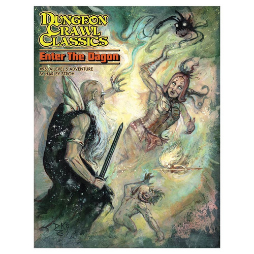 Dungeon Crawl Classics/GG: Dungeon Crawl Classics: #95 Enter the Dragon