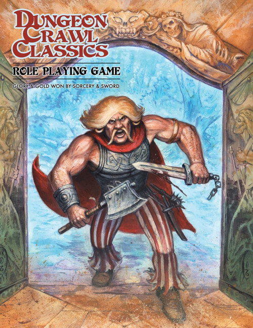 "Dungeon Crawl Classics/GG: Dungeon Crawl Classics: Core Rulebook ""Angry Hugh"" Ltd. Ed."