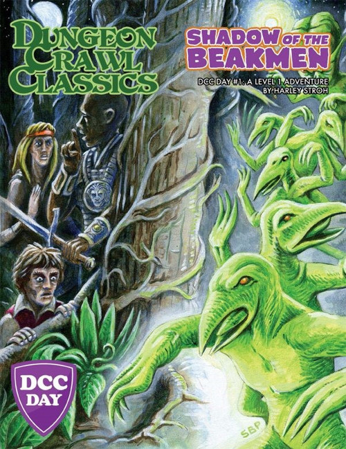 Dungeon Crawl Classics/GG: Dungeon Crawl Classics: Shadow of the Beakmen DCC Day #1