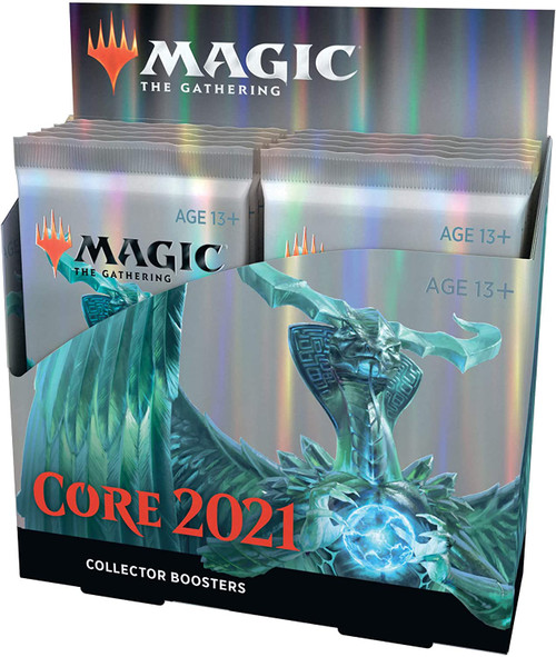 Magic The Gathering Sealed: Core Set 2021 - M21 Collector Booster Display (12)