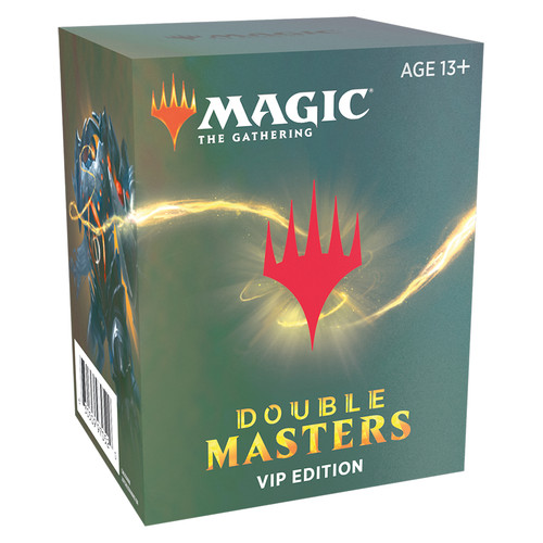 (Preorder) Magic The Gathering Sealed: Booster Packs - Double Masters VIP Edition Pack