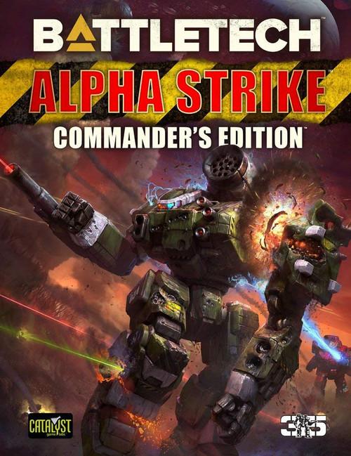 Battletech: BattleTech: Alpha Strike - Commander's Edition
