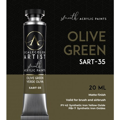 Paint: Scale75 - Olive Green