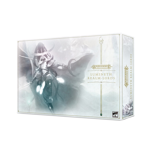 Warhammer: Age of Sigmar: Grand Alliance: Order - Lumineth Realm-Lords Lumineth Realm-Lords Army Box