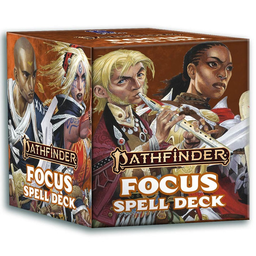 Pathfinder: Accessories - PF Spell Cards - Focus (P2)
