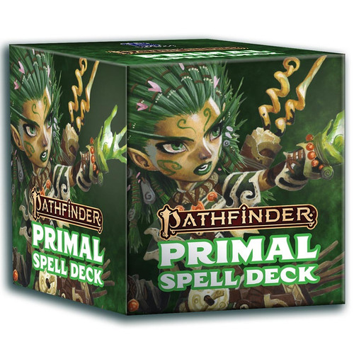 Pathfinder: Accessories - PF Spell Cards - Primal (P2)