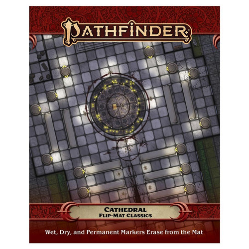 Pathfinder: Tiles and Maps - PF Flip-Mat Classics - Cathedral