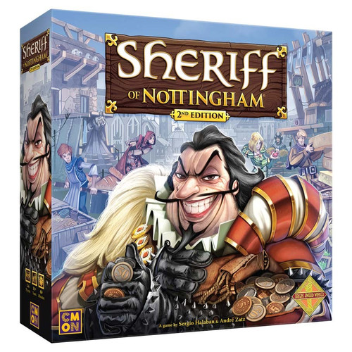 Board Games: Sheriff of Nottingham 2nd Edition