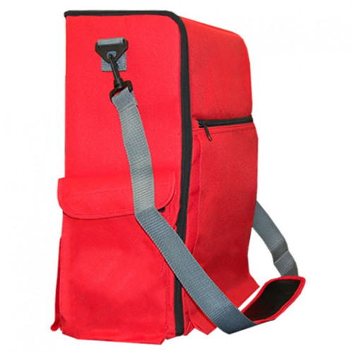 Other Gaming Storage: Flagship Gaming Bag - Red (Empty)