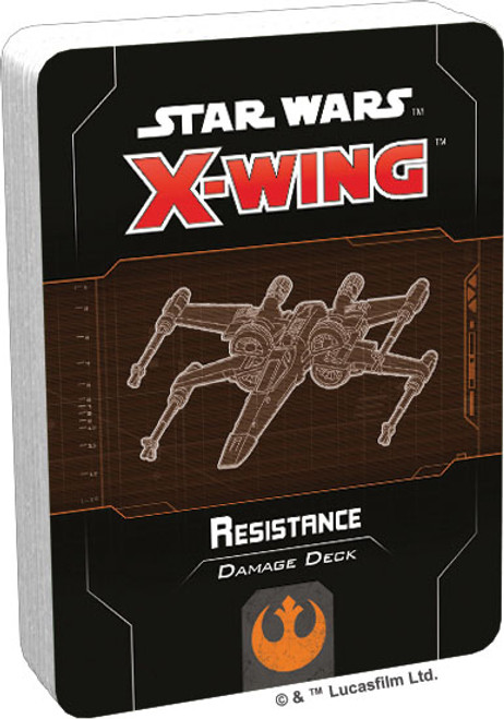Star Wars X-Wing: Resistance Damage Deck (2nd Ed)