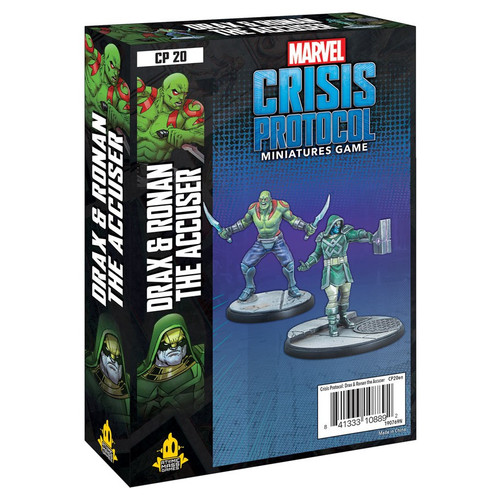 Marvel: Crisis Protocol: Drax and Ronan the Accuser Character Pack