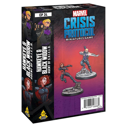 Marvel: Crisis Protocol: Hawkeye and Black Widow Character Pack