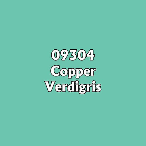 Paint: Reaper - Master Series Metallics Copper Verdigris (1/2 oz)