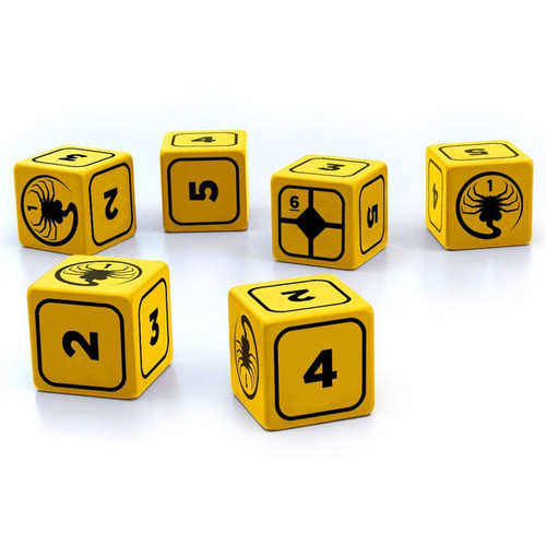 Dice and Gaming Accessories Alien RPG: Stress Dice