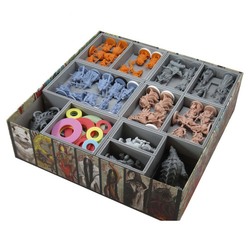 Other Gaming Storage: Box Insert: Rising Sun: Daimyo Box & Exp