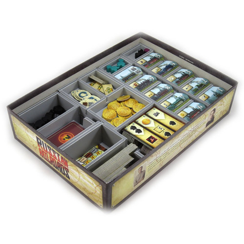 Other Gaming Storage: Box Insert: Russian Railroads & German