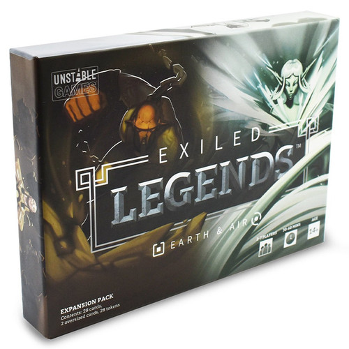 Card Games: Exiled Legends: Earth & Air Expansion
