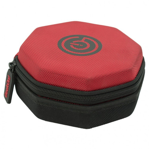 Dice and Gaming Accessories Dice Towers and Trays: Dice Case with Tray - Red/Black