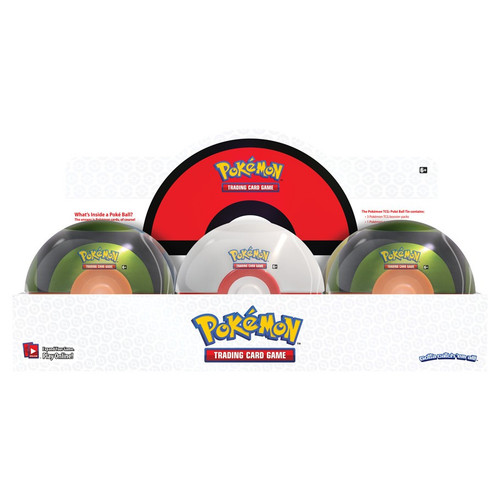 Pokemon TCG: Trainer Boxes and Special Items - Poke Ball Tin Wave 5