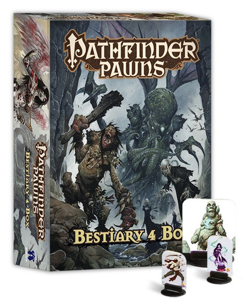 Pathfinder: Accessories - Pawns - Bestiary 4 Box