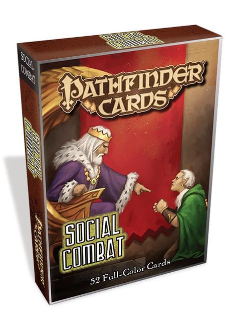 Pathfinder: GM Screens and Character Folios - Social Combat Deck