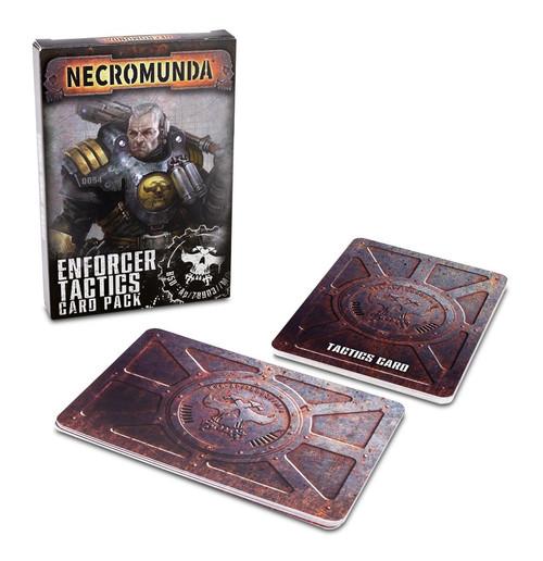 Warhammer 40K: Necromunda - Necromunda Enforcer Tactics Card Pack