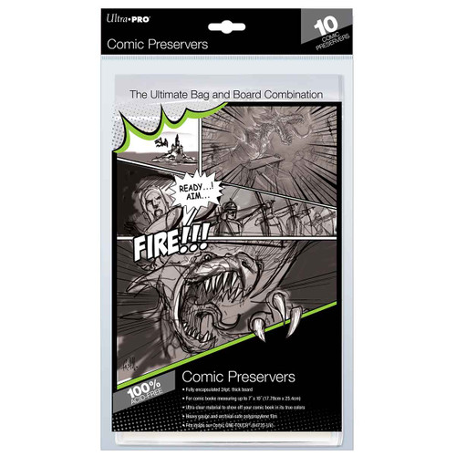 """Other Gaming Storage: Comic Preserver 7"""" x 10"""" (10)"""