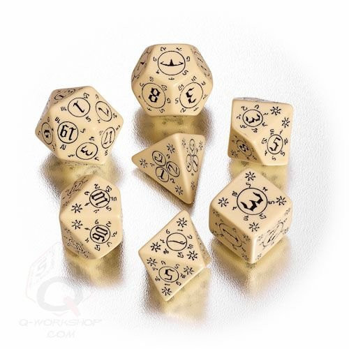 Pathfinder: Accessories - Pathfinder Rise of the Runelords Dice Set  (7)