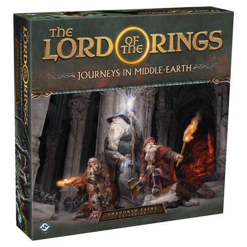 Board Games: Expansions and Upgrades - The Lord of the Rings: Journeys in Middle-Earth - Shadowed Paths