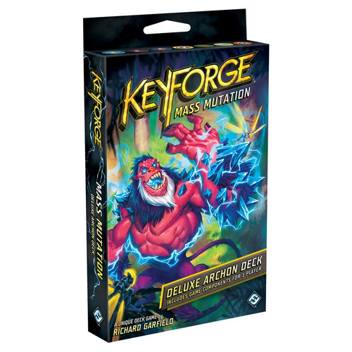 KeyForge: Decks and Deck Displays - Keyforge Mass Mutation Deluxe Deck