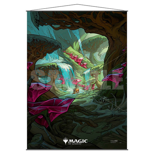 Other MTG Products: MtG Ikoria Zagoth Triome Wall Scroll