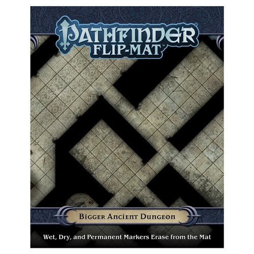 Pathfinder: Tiles and Maps - PF Flip-Mat - Bigger Ancient Dungeon