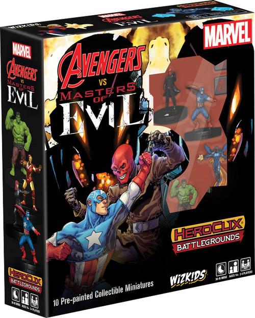 HeroClix: Marvel: Battlegrounds - Avengers vs Masters Of Evil