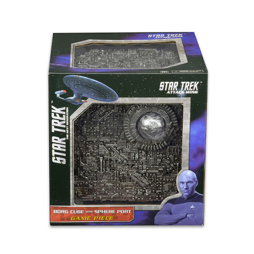 Star Trek Attack Wing: Borg - Borg Cube with Sphere Port Premium Figure