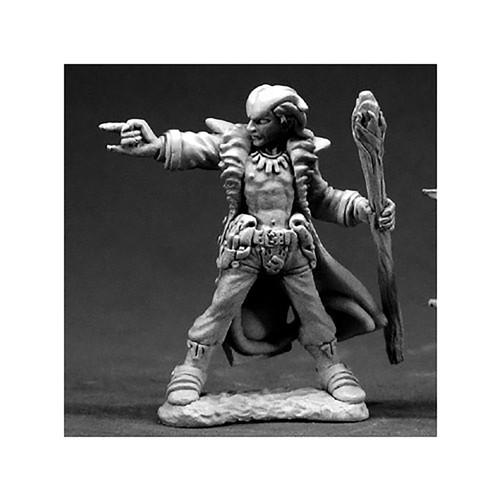 RPG Miniatures: Adventurers - Dark Heaven Legends: Damien, Hellborn Wizard