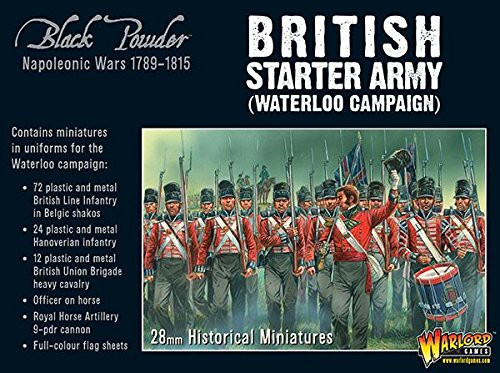 Black Powder: Black Powder: Napoleonic British Starter Army (Waterloo Campaign)