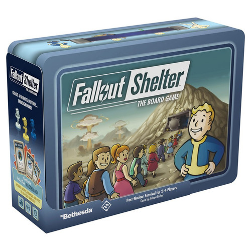 Board Games: Fallout Shelter: The Board Game