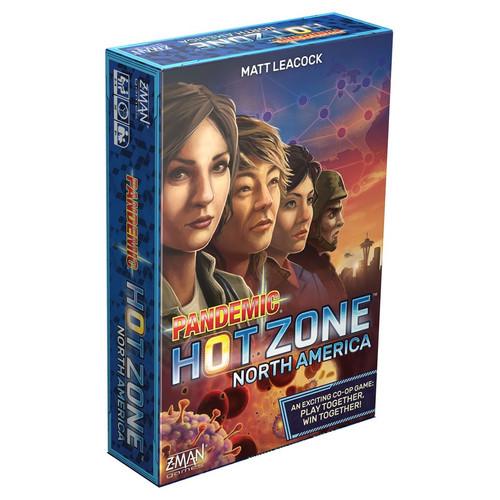 Board Games: Pandemic - Pandemic: Hot Zone - North America