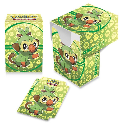 Pokemon TCG: Accessories - Pokemon Grookey Full View Deck Box