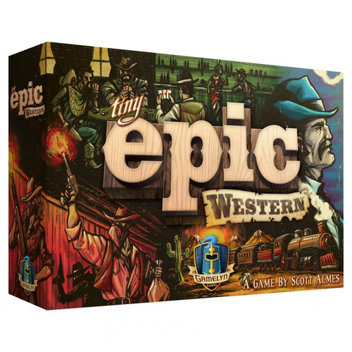 Board Games: Tiny Epic - Tiny Epic Western